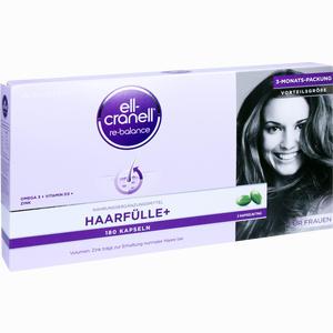 Abbildung von Ell- Cranell Haarfülle+ für Frauen Kapseln 180 Stück