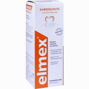 Abbildung von Elmex Kariesschutz Zahnspülung Lösung 400 ml