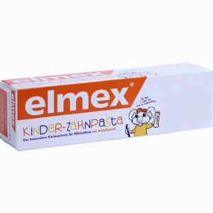 Abbildung von Elmex Kinderzahnpasta mit Faltschachtel  50 ml