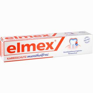 Abbildung von Elmex Mentholfrei mit Faltschachtel Zahnpasta 75 ml
