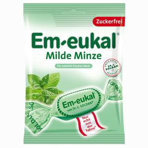 Abbildung von Em- Eukal Milde Minze zuckerfrei Bonbon 75 g