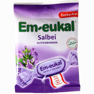 Abbildung von Em- Eukal Salbei zuckerfrei Bonbon 75 g