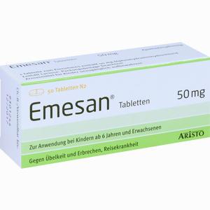 Abbildung von Emesan Tabletten  50 Stück