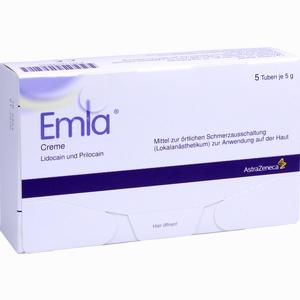 Abbildung von Emla Creme + 12 Tegaderm Pflaster  Astrazeneca 5 x 5 g
