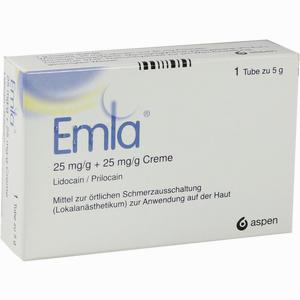 Abbildung von Emla Creme 25mg/g + 2 Tegaderm Pflaster Kombipackung 5 g