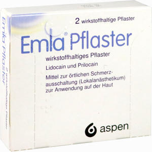 Abbildung von Emla Pflaster  2 x 1 Stück