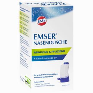 Abbildung von Emser Nasendusche mit 4 Btl. Nasenspülsalz Kombipackung 1 Stück
