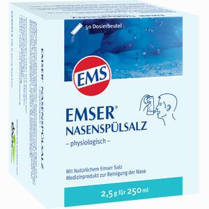 Abbildung von Emser Nasenspülsalz Physiologisch im Beutel Pulver 50 Stück