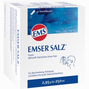 Abbildung von Emser Salz Beutel 50 Stück