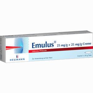 Abbildung von Emulus 25 Mg/g + 25 Mg/g Creme  30 g