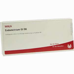 Abbildung von Endometrium Gl D8 Ampullen 10 x 1 ml