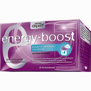 Abbildung von Energy- Boost Orthoexpert Trinkgranulat  28 x 11 g