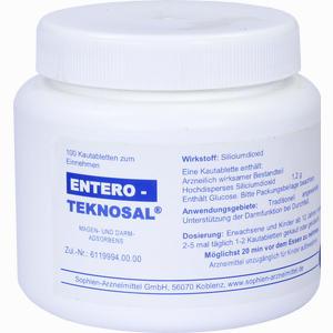 Abbildung von Entero Teknosal Kautabletten 100 Stück