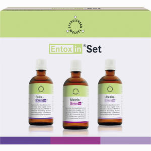 Abbildung von Entoxin Set Tropfen 3 x 50 ml