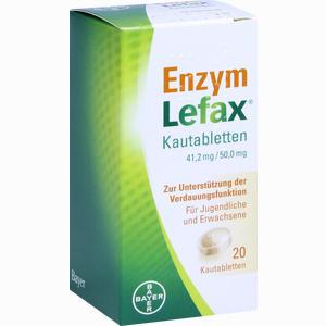 Abbildung von Enzym Lefax Kautabletten 20 Stück