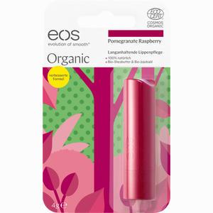 Abbildung von Eos Organic Lip Balm Pomegranate Raspberry Stick 4 g