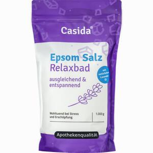 Abbildung von Epsom Salz Relaxbad mit Lavendel  1 KG