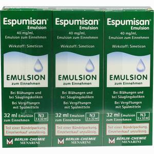 Abbildung von Espumisan Emulsion  3 x 32 ml