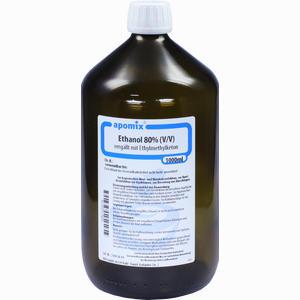 Abbildung von Ethanol Mek Denaturatum 80% Fluid 1 l