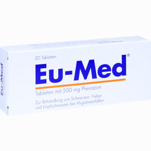 Abbildung von Eu Med Tabletten 20 Stück