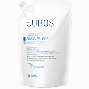 Abbildung von Eubos Hautbalsam F Nachfüllbeutel Lotion 400 ml