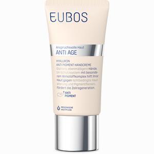 Abbildung von Eubos Hyaluron Anti- Pigment Handcreme Lsf 15  50 ml
