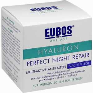 Abbildung von Eubos Hyaluron Perfect Night Repair Creme 50 ml
