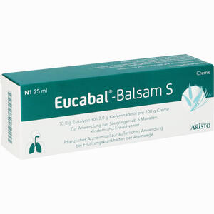 Abbildung von Eucabal- Balsam S Creme 25 ml