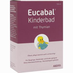 Abbildung von Eucabal Kinderbad mit Thymian Bad 130 ml