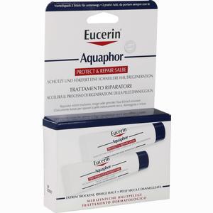 Abbildung von Eucerin Aquaphor Protect & Repair Salbe 2 x 10 ml