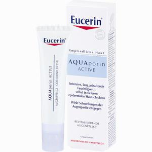 Abbildung von Eucerin Aquaporin Active Augenpflege Creme 15 ml