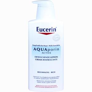 Abbildung von Eucerin Aquaporin Active Erfrischende Lotion reichhaltig  400 ml
