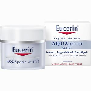Abbildung von Eucerin Aquaporin Active Feuchtigkeitspflege für Normale Haut Bis Mischhaut Creme 50 ml