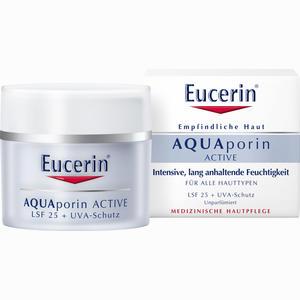 Abbildung von Eucerin Aquaporin Active Feuchtigkeitspflege mit Lsf25 Creme 50 ml