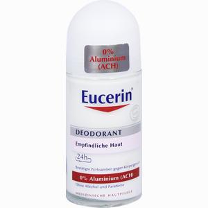 Abbildung von Eucerin Deodorant Roll- On 0% Aluminium Stift 50 ml