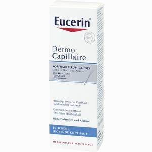 Abbildung von Eucerin Dermocapillaire Kopfhautberuhigendes Urea Intensiv- Tonikum  100 ml