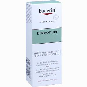 Abbildung von Eucerin Dermopure Therapiebegleitende Feuchtigkeitspflege Creme 50 ml