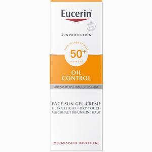 Abbildung von Eucerin Oil Control Face Sun Gel- Creme Lsf 50+  50 ml