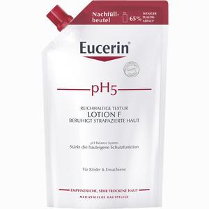 Abbildung von Eucerin Ph5 Lotion F im Nachfüllbeutel für Empfindliche Haut  400 ml