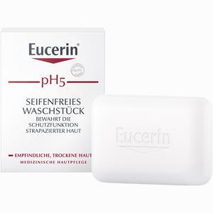 Abbildung von Eucerin Ph5 Seifenfreies Waschstück für Empfindliche Haut Körperpflege 100 g