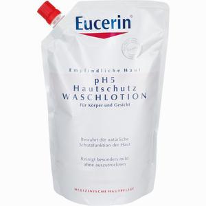 Abbildung von Eucerin Ph5 Waschlotion im Nachfüllbeutel 750 ml