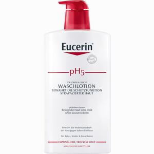 Abbildung von Eucerin Ph5 Waschlotion mit Pumpe Sondergröße  1000 ml