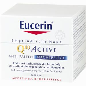Abbildung von Eucerin Q10 Active Anti- Falten Nachtpflege Creme 50 ml