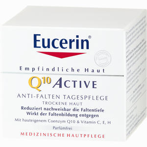 Abbildung von Eucerin Q10 Active Anti- Falten Tagespflege für Trockene Haut Creme 50 ml