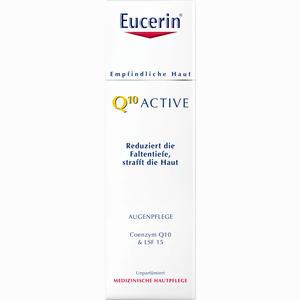 Abbildung von Eucerin Q10 Active Augenpflege Creme 15 ml