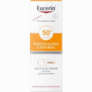 Abbildung von Eucerin Sun Cc Creme Getönt Hell Lsf 50+  50 ml