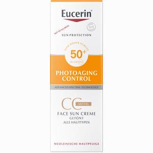 Abbildung von Eucerin Sun Cc Creme Getönt Mittel Lsf 50+  50 ml