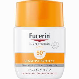 Abbildung von Eucerin Sun Fluid Mattierend Lsf 50+ Creme 50 ml
