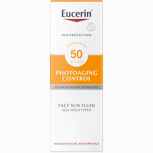 Abbildung von Eucerin Sun Fluid Photoaging Control Lsf 50 Körperpflege 50 ml