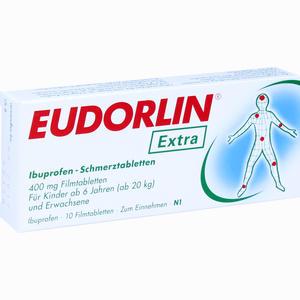 Abbildung von Eudorlin Extra Ibuprofen- Schmerztabletten Filmtabletten 10 Stück